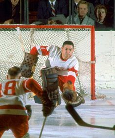 Terry Sawchuk Detroit Hockey b03aa92b2