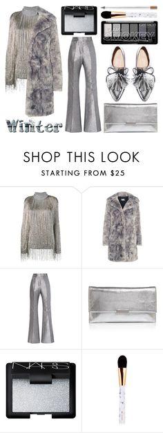 """Sweater Weatherq"" by deborahanamariarachelina ❤ liked on Polyvore featuring Valentino, Karl Lagerfeld, Loeffler Randall and NARS Cosmetics"