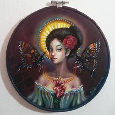 Our lady of butterflies