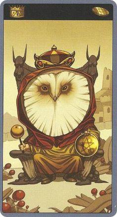 Another from the Mibramig Magical Tarot. Fab!