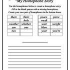 Students+fill+out+missing+homophone+pairs+and+create+their+own+story+using+the+homophones+listed.+They+also+create+two+pairs+of+their+own+homophone...