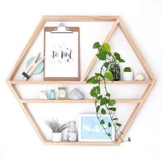 Pine Feature Shadow Box