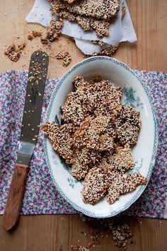 dagmar's kitchen: gluten-free seed crackers (in swedish)