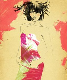 Sandra Suy #fashion_illustration