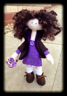 Handmade keepsake doll by Pixie-Craft dolls www.facebook.com/pixiecraftdolls