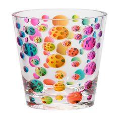 Charmant Merritt Rainbow Outdoor Acrylic Glassware 14oz Tumbler (Set Of 6)
