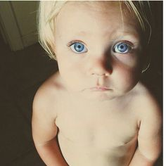 <3 aw, he reminds me of Shane's wee guy with the super blonde hair and insanely blue eyes.
