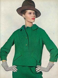 1963, Veruschka, Vogue