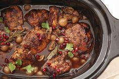 FoodieCrush : Slow Cooker Balsamic Chicken