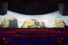 Zhuhai, Worlds Largest, Theater, Castle, Tapestry, Ocean, Decor, Teatro, Hanging Tapestry