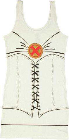 X Men Emma Frost Costume Tank Top Dress #Halloween