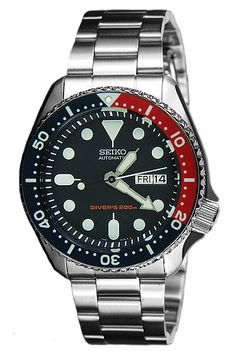 A-Watches.com - Seiko automatic divers SKX009K, S$387.37 (http://www.a-watches.com/skx009k-solid-oyster/)