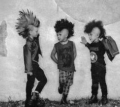 Venga, niños: hoy me siento Punk