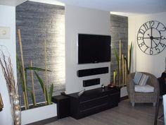 BLEU ARDOISE : composez votre décoration intérieure et extérieure avec l'ardoise, pierre naturelle.Sommaire>Galerie photos>Décoration intérieure