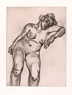 Lucian Freud, Blond Girl, 1985. The Courtauld Gallery, London Frank Auerbach Gift, 2012. © The estate of the artist