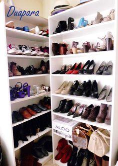 1000 images about organizador de zapatos on pinterest zapatos shoe closet and closet - Organizador de zapatos ...