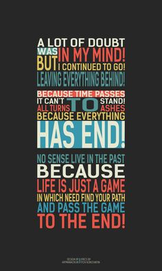 Life it's just a game