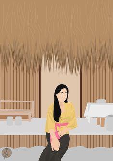 #illustration #flatillustration #modernillustration #nudecolour #aestheticillustration #aesthetic #flatdesignillustration #flatdesign #flatartillustration Flat Design Illustration, Illustration Art, Nude, Modern, Color, Flat Illustration, Trendy Tree, Colour, Colors