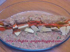 Ρολό κιμά γεμιστό με πιπεριές και κεφαλοτύρι - από «Τα φαγητά της γιαγιάς» Food And Drink, Beef, Cooking, Ethnic Recipes, Kitchen, Meat, Kochen, Ox, Kitchens