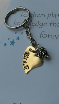 Personal keyring with acorn ♡