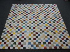 Betty Hofstetter of Millersburg, Ohio sent in this quilt to Hopes & Dreams. (www.hopesanddreams.quiltersdreambatting.com)