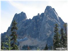 Early Winter Spires and Liberty Bell, Washington, USA