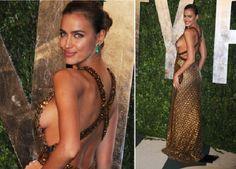 23 самых соблазнительных наряда за всю историю церемонии «Оскар». Oscars 2012, Irina Shayk, Backless, Celebs, Formal Dresses, Music, Fashion, Celebrities, Moda