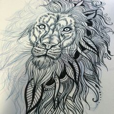 Tattoo Lion Mandala Arm 61 Ideas For 2019 Trendy Tattoos, Popular Tattoos, Girl Tattoos, Tumblr Hipster, Urban Threads, Lion Arm Tattoo, Lion Sketch, Fresh Tattoo, Geniale Tattoos