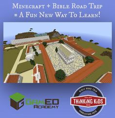Minecraft  +  Bible Road Trip = A Whole New Way to Learn the New Testament!