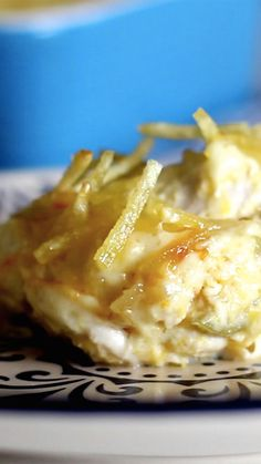 How to make Creamy Chicken Bake, aka Chicken Fricassee.