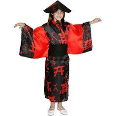 Disfraz de China Negro #disfraces #infantil