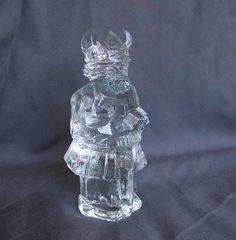 Danish Modern Pukeberg Sweden art glass by AntiqueAddictions, $29.99