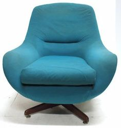Superbe Vintage Green McIntosh Swivel Chair Retro Office Home FurnitureVintage  Green Mcintosh Swivel Chair Retro Office Home