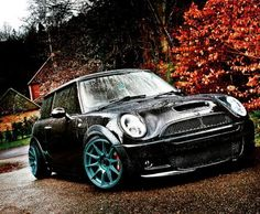Mini Cooper S R53 Blackkkssss