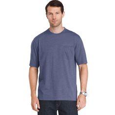 Men's IZOD Chatham Point Regular-Fit Tee, Size: Medium, Blue (Navy)
