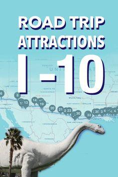 Explore this epic I-10 road trip!