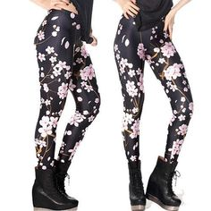 Item Type: Leggings Gender: Women Pattern Type: Print Brand Name: ALTERNATIVE MEASURES Style: Fashion Waist Type: Mid Material: Polyester Material: Spandex Fabric Type: Knitted Length: Ankle-Length Mo