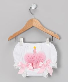 Take a look at this Pink Cupcake Diaper Cover - Infant & Toddler by Tutus by Tutu AND Lulu on #zulily today!