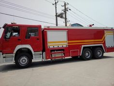 15000liters fire fighting truck