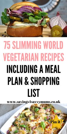 Here are 75 Slimming World vegetarian recipes that will help you on your way to eating on a budget including a meal plan and shopping list printable by Laura at Savings 4 Savvy Mums astuce recette minceur girl world world recipes world snacks Easy Dinners For Two, Easy Healthy Dinners, Easy Healthy Recipes, Easy Dinner Recipes, Dinner Healthy, Eat On A Budget, Budget Meals, Slimming World Vegetarian Recipes, Family Vegetarian Meals