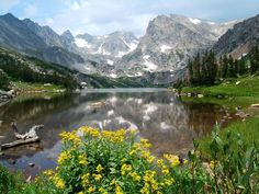 Indian Peaks Wilderness - hiking near Rocky Mountain National Park, but with fewer people.