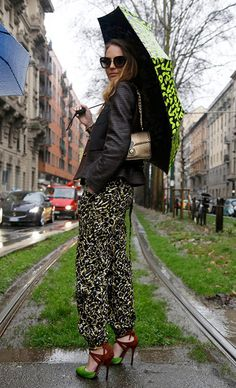 Street style MFW * What I Would Wear * Alina Contreras