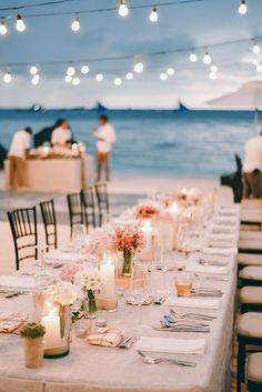 30 Wedding Light Ideas That Glow Magnificent ❤ wedding light reception decorated with garlands with lamps on tables candles and bouquets owen and nikka wedding photography ❤ See more: http://www.weddingforward.com/wedding-light-ideas/ #wedding #bride #weddingdecorations