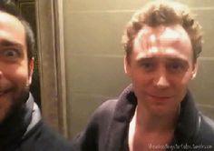 Tom Hiddleston Love this gif! So funny! http://24.media.tumblr.com/16da33a66cf4e825c99ad8d3b2b3b329/tumblr_n2awdwI2o51qi3i6bo1_400.gif