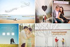 engagement photo overlays: haute romance are here!