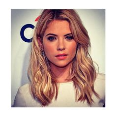 Get Ashley Benson's Playful Paley Festival Hair ❤ liked on Polyvore featuring hair, ashley benson, ashley and photos
