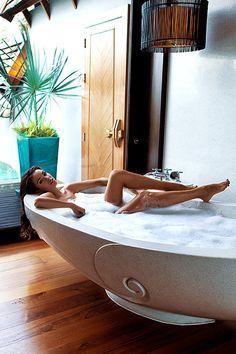 Bath Tub Poses