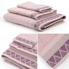 Toalha de Banho Triângulo Rosa 90 x 150 cm | A Loja do Gato Preto | #alojadogatopreto | #shoponline | referência 44066358