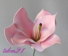 МК цветок из Фома