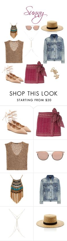 """""""barbeque wear"""" by iamminx ❤ liked on Polyvore featuring Michael Kors, Étoile Isabel Marant, DAMIR DOMA, Linda Farrow, Leslie Danzis, Yves Saint Laurent, Accessorize, Janessa Leone and Topshop"""